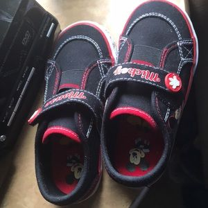Mickey toddler shoes. Size 9
